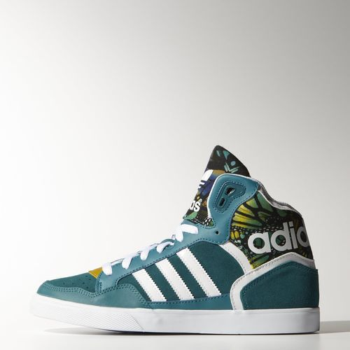 Power Teal Extaball Shoes by Adidas. Such a rad colour and pattern - love!
