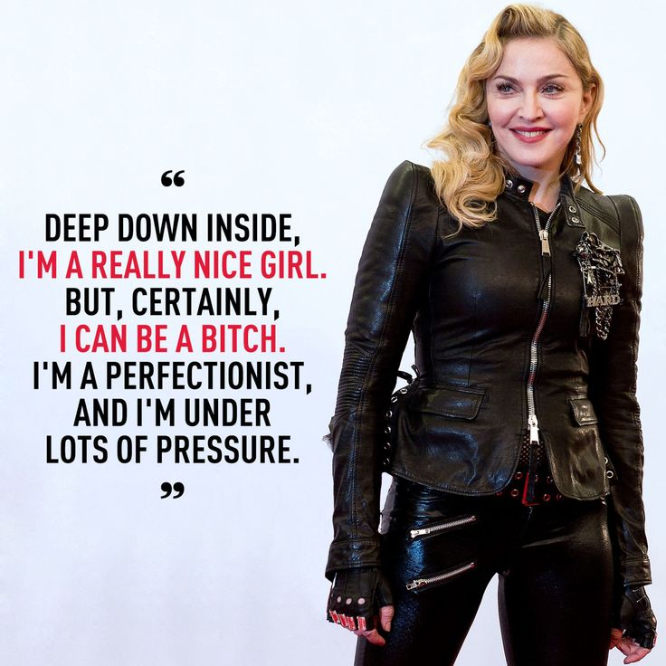 8 Madonna Quotes That Will Inspire You To Go Out and Crush Life  - Cosmopolitan.com