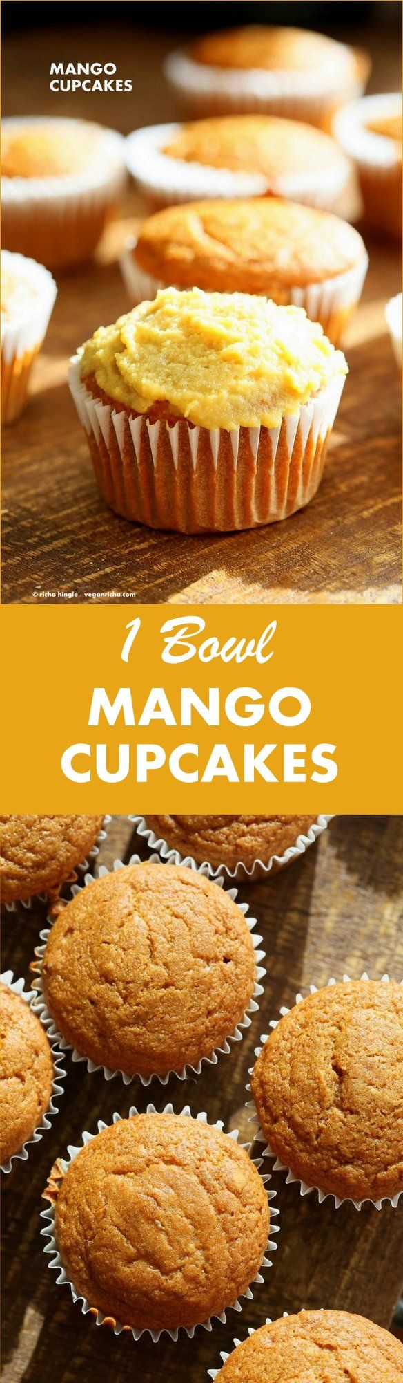 One Bowl Vegan Mango Cupcakes. Easy Mango Cupcake or Cake Recipe. Whisk up the dry ingredients. Add in mango puree and…