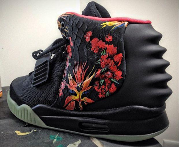 """Nike Air Yeezy 2 """"Givenchy"""" Custom"""