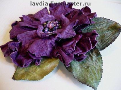 Gallery.ru / Фото #1 - Броши LAVDIA из кожи,меха - lavdia