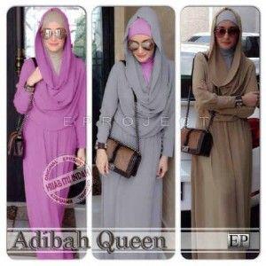 Model baju muslim dewasa cantik adibah queen