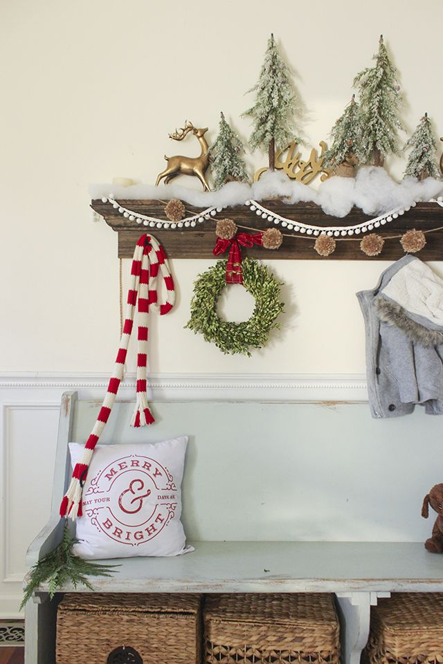 A tour of my home decorated for Christmas including entry, kitchen, dining,  living