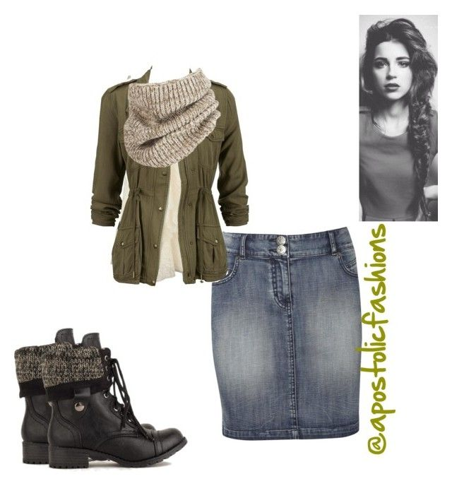 """""""Apostolic Fashions #781"""" by apostolicfashions on Polyvore featuring Oasis, Full Tilt and Brixton"""