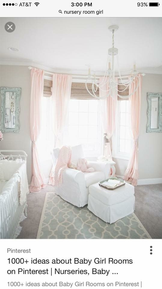 Love the light colors in this room
