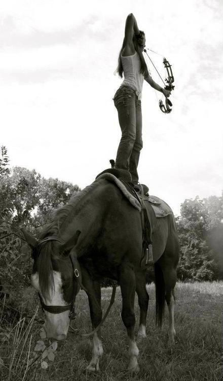 .THIS. IS . AWESOME...only in my dreams. It's like an old John Wayne movie with Ben Johnson and Harry Carry, Jr., doing the greatest stunt riding in the world. When I grew up, I wanted to do that. Ah, well, perchance to dream.