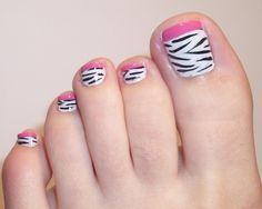 Resultado de imagen para estilos de uñas para pies