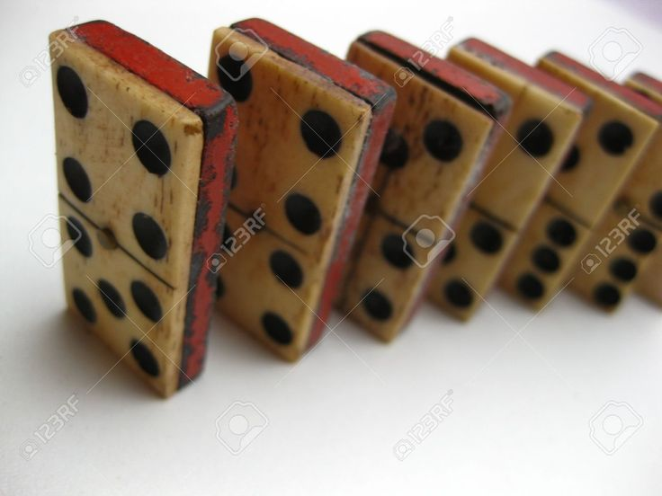 Antique Domino Set Stock Photo, Picture And Royalty Free Image ...