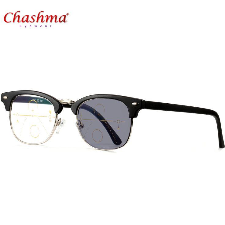 Gafas de lectura Hombres Photochromic Transición Sol ajustable visión Con Dioptrías gafas Progresivas Multifocales lentes de lectura