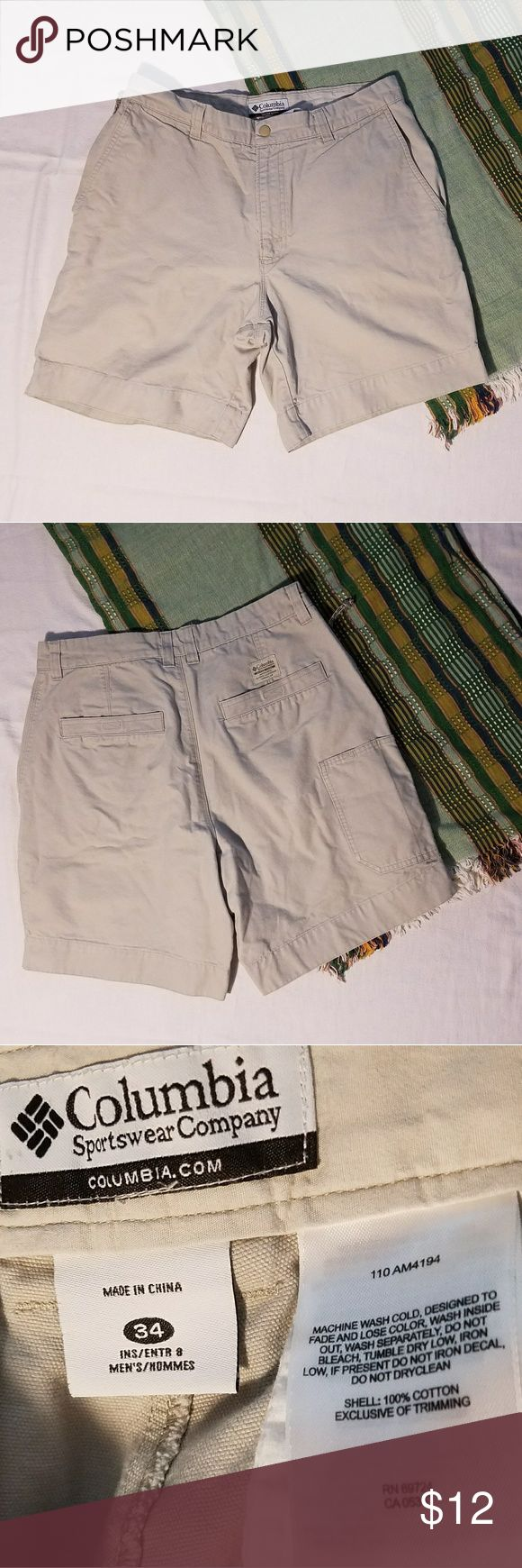 Columbia Sportswear Company Size 34 ~Columbia Sportswear Company  ~Size: 34 ~Measurements: Coming Soon  *Measurements are approximate* ~Gently Used | In Good Condition | No Rips Or Stains  ~Feel free to ask Questions and Make an Offer~ ~Stock#: Columbia Shorts Cargo