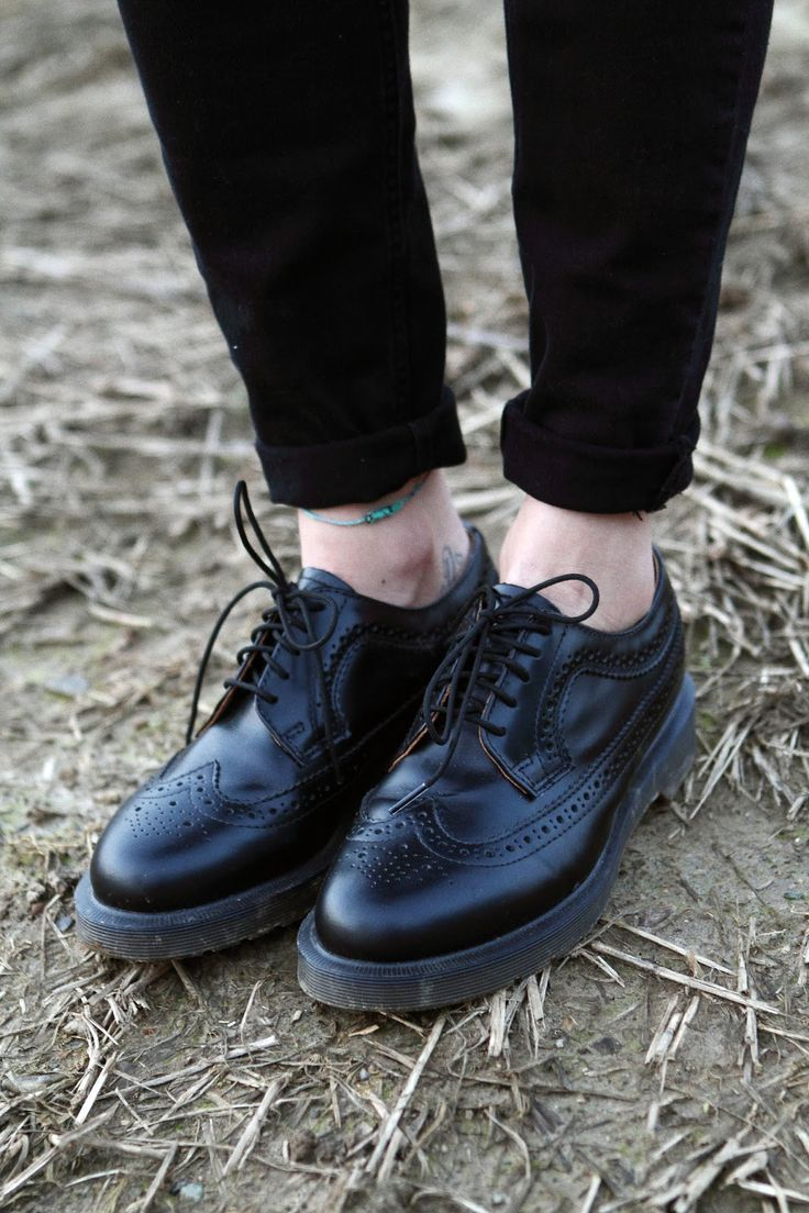 Dr Martens, oxford brogues style