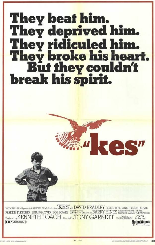 "My favorite movie.@ ""Kes"" (Ken Loach, 1969)."