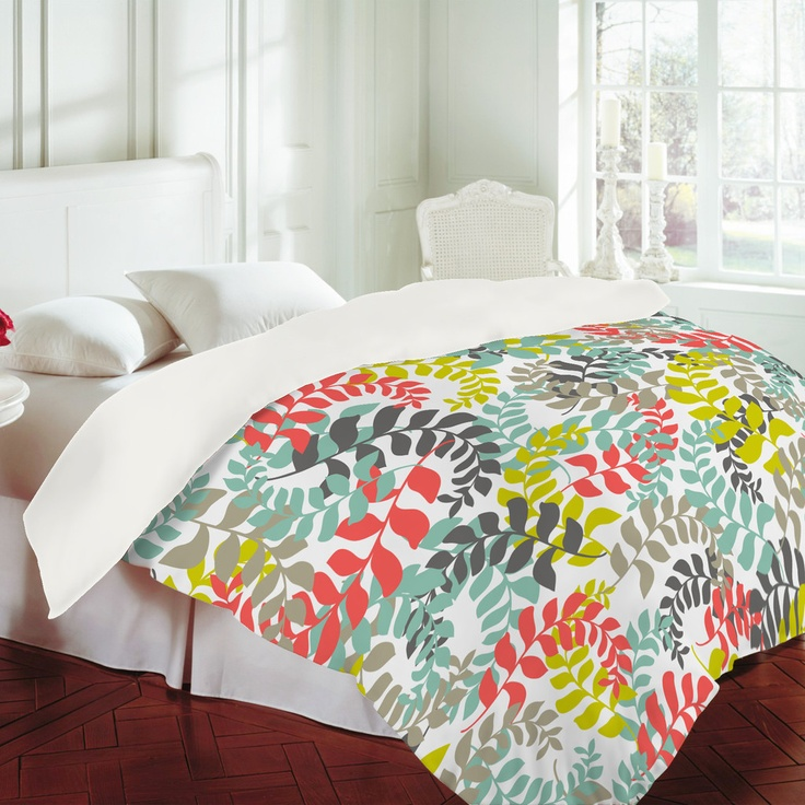 DENY Designs Home Accessories | Heather Dutton Undertow Coral Duvet Cover