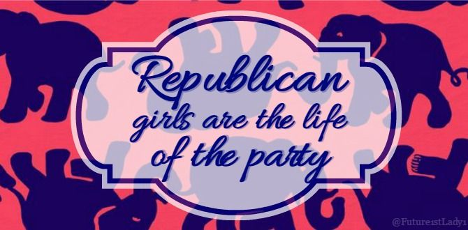 Dating a republican girl