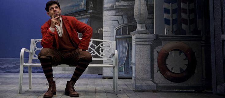 Pierfrancesco Favino: fino al 10 gennaio in scena al Teatro delle Muse con 'Servo per due'