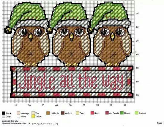 Jingle All The Way Owls 2/2