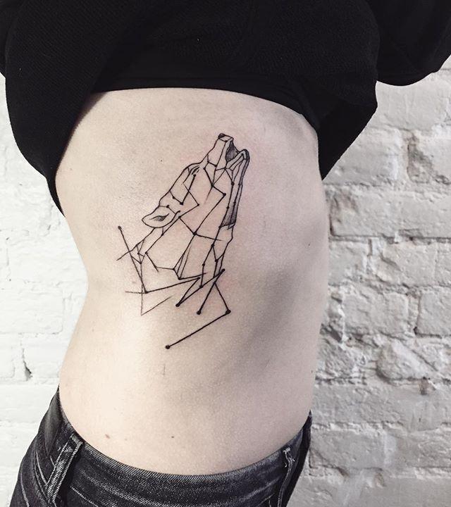 #lescrw #tattoo #linework