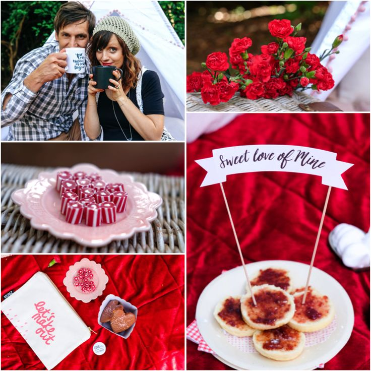 Surprise backyard picnic with my Valentine. - Just A Mamma