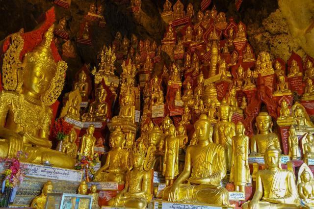 Shwe Oo Min Cave Buddhas, Pindaya, Myanmar - Mike Aquino