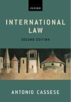 International law / Antonio Cassese