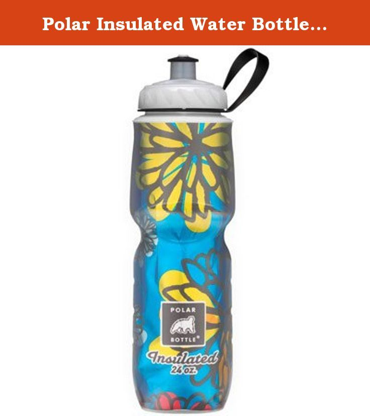 Polar Insulated Water Bottle: 24oz; April Showers. Polar Insulated Water Bottles have a double-wall construction with foil insulation to keep liquids colder or warmer longer. Double wall construction and unique reflective foil insulation keep your drinks coldMade in the US of LDPE plastic #4All Polar bottles are BPA free and contain no phthalatesRemovable carry loopDishwasher safe, rubber valve is removable for cleaning Item SpecificationsColorApril ShowersMaterialPlasticBottle...