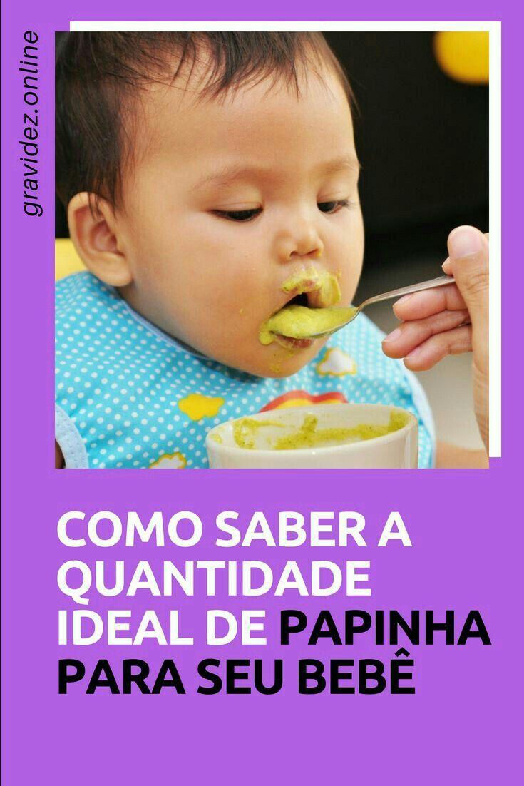 Alimentacao Saudavel Para Bebes Receitas De Papinhas Naturais E