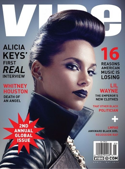 Alicia Keys Gives First 'Real' Interview on the Cover of VIBE's Global Issue. Read Cover Story Excerpts at VIBE.com.Music, Vibes Covers, Fashion Ideas, 08Celebr Alicia Keys艾莉西亞 凱斯, Vibes Magazines, Updo Hairstyles, Keys Covers, Aliciakey, Magazines Covers