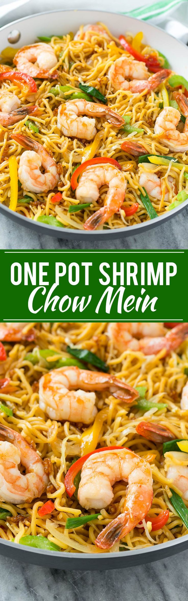 Shrimp Chow Mein Recipe | Chinese Food | One Pot Meal | Shrimp Recipe | Take Out | Easy Dinner Recipe | Chow Mein Recipe