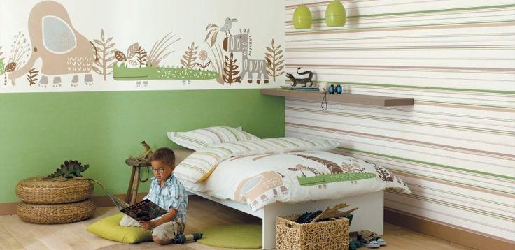 Fantasyroom Babyzimmer und Kinderzimmer in grün