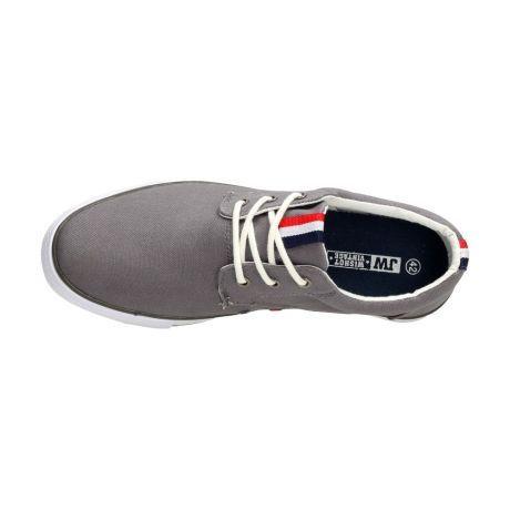 Szare trampki, buty męskie WISHOT 113
