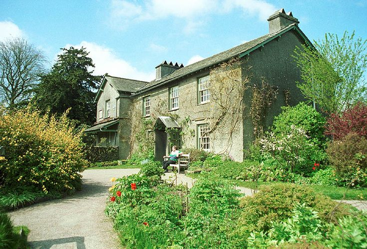 Hill Top and other Beatrix Potter 'haunts around Sawrey