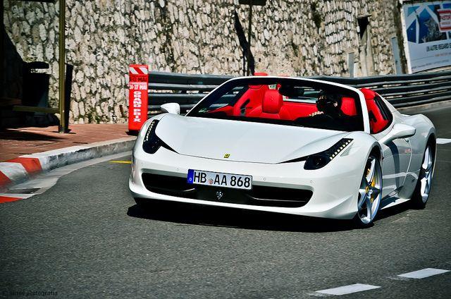 ferrari 458 white red interior. ferrari 458 white red interior r