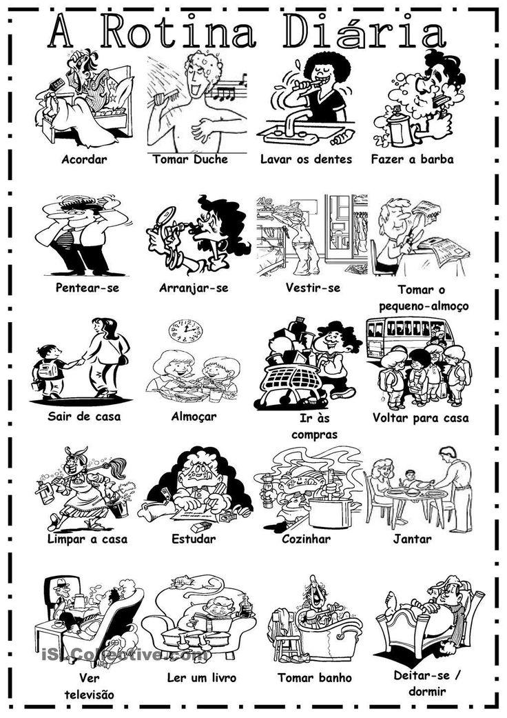 Pin de Ljudmila Lysenko en Portuguese vocabulary (con