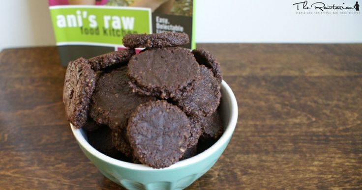 Best raw chocolate cookies (almonds, cashews, dates, agave, coconut butter, vanilla extract, cocoa, sea salt)