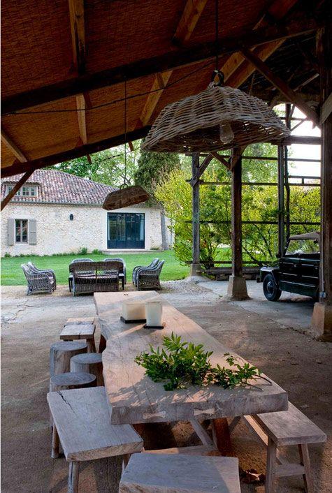 La maison de Sarah Lavoine dans le Gers