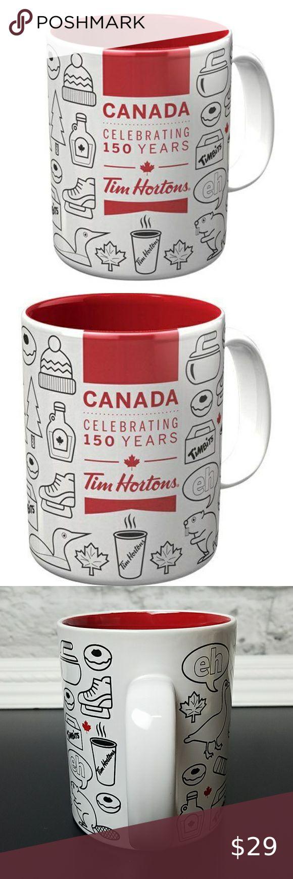 Tim Hortons Canada Celebrating 150 Years Mug Tim Hortons