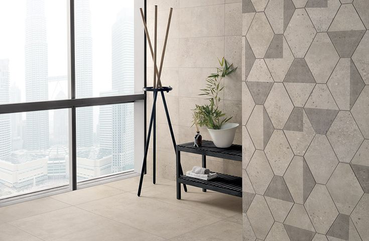 CONCRETE was inspired by the craze for reclaiming old, #concrete buildings. It #crystallizes the magic and reproduces it in a concrete-effect #floor that is #ideal for #contemporary #homes.