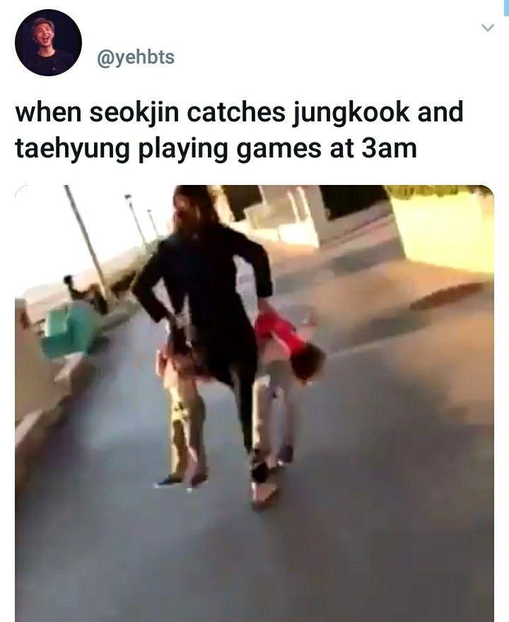 Lmao Bts Memes Jin V Jungkook Bts And