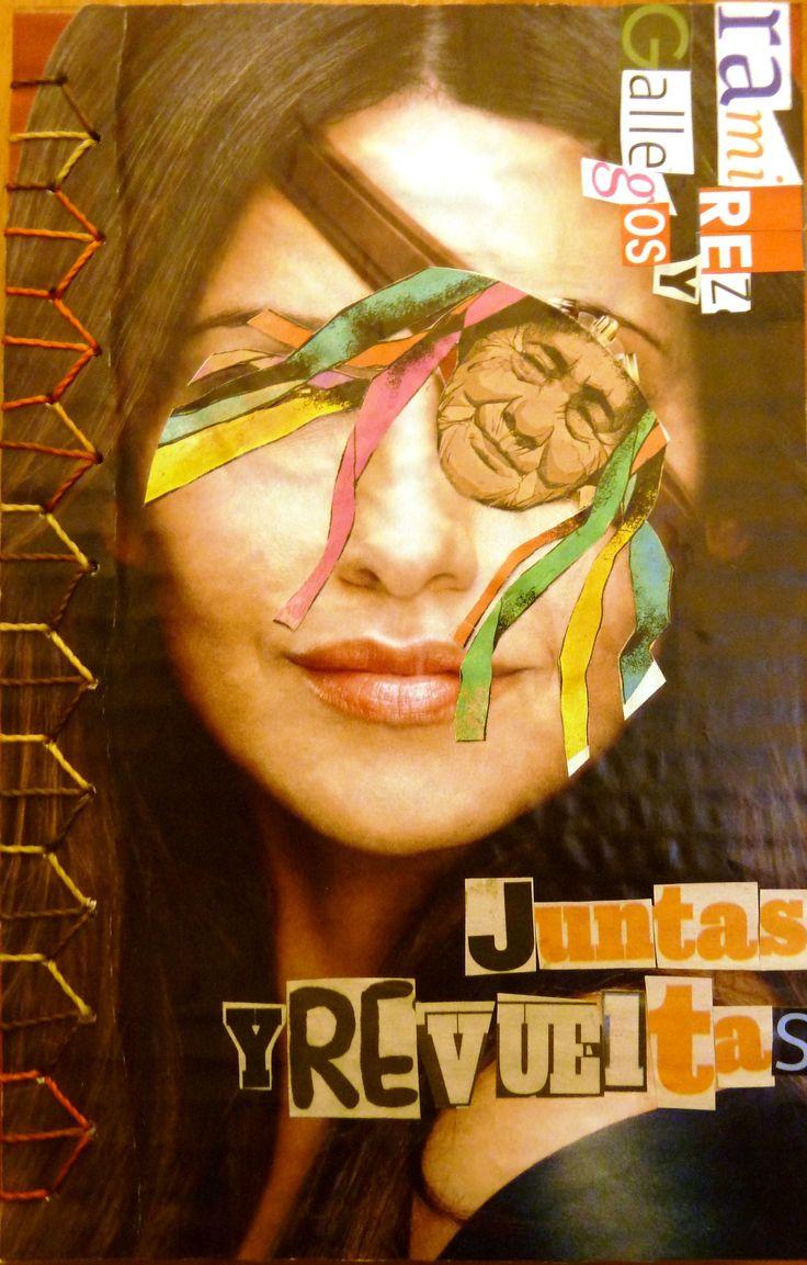 Poemario Juntas y Revueltas | Libros Cartoneros | La Joyita Cartonera | handmade books | cardboard | poetry | by Eli Cárdenas