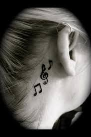 Resultado de imagen para notas musicales tattoo