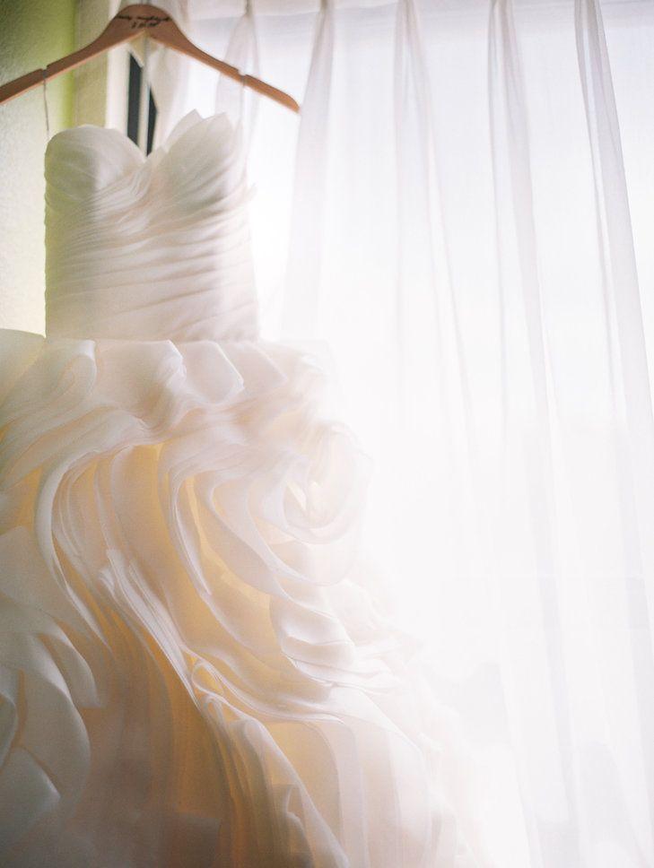 Trending Flowy Layered Ball Gown Wedding Dress Lehmann Mansion Britta Marie Photography https