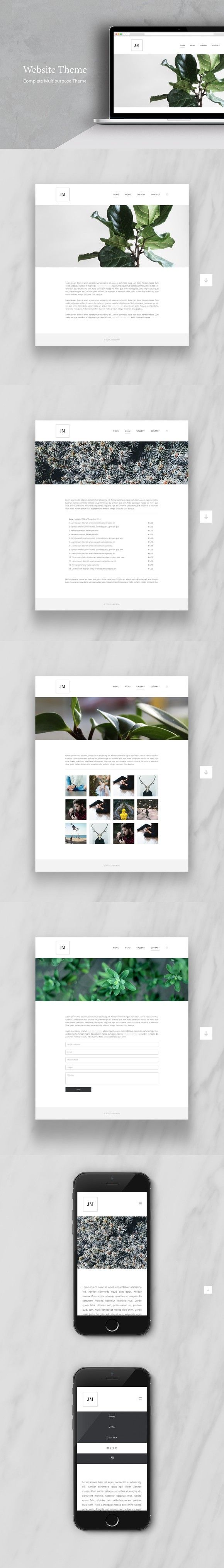 687 best HTML/CSS Themes images on Pinterest | Blogger templates ...