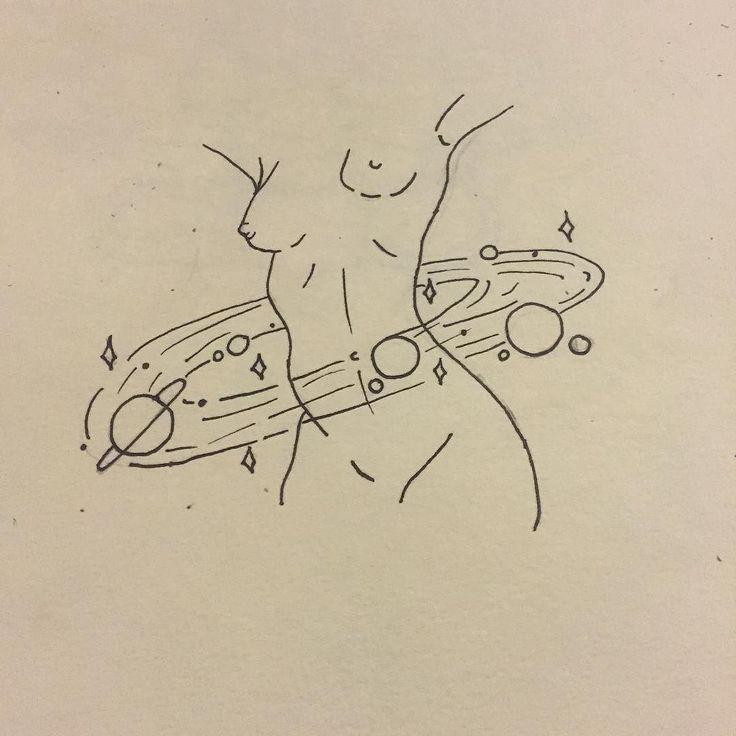 Line Drawing Tattoos Tumblr : Best ideas about saturn tattoo on pinterest eye