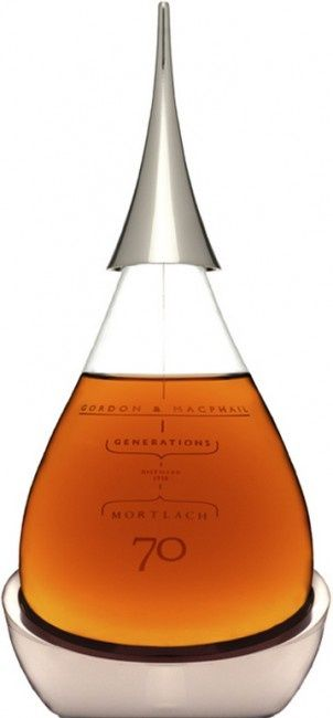 ☆ Gordon & MacPhail's Generations Mortlach 70 :¦: The World's Oldest Scotch Whisky  ☆