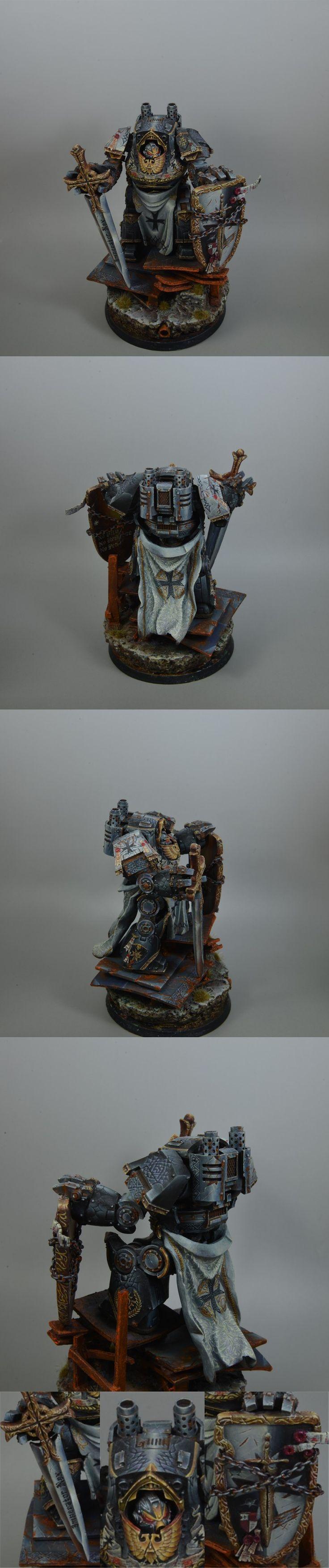 Black Templar Dreadnought by bb68922449