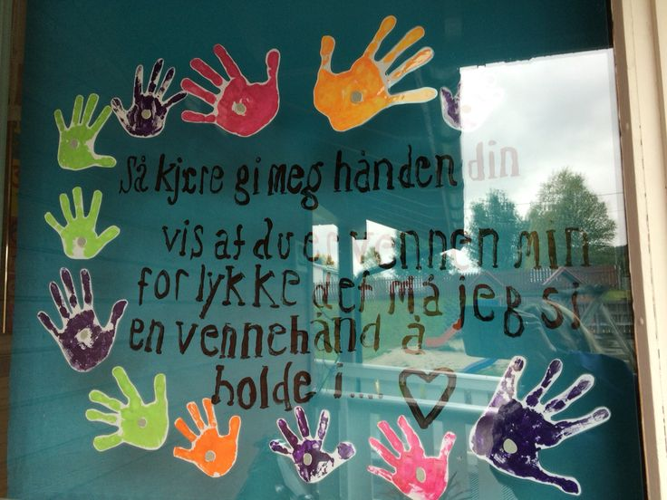 Vennevers #barnehage #hender #venner