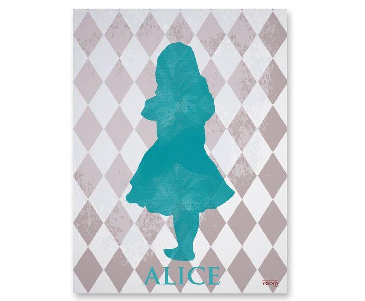 Humpty Dumpty Room Decoration Plakat Alice / #ladnerzeczy #targirzeczyladnych #ladnerzeczydziejasiewinternecie #polishdesign #design #babyroom #poster #baby #dziecko #aliceinthewonderland