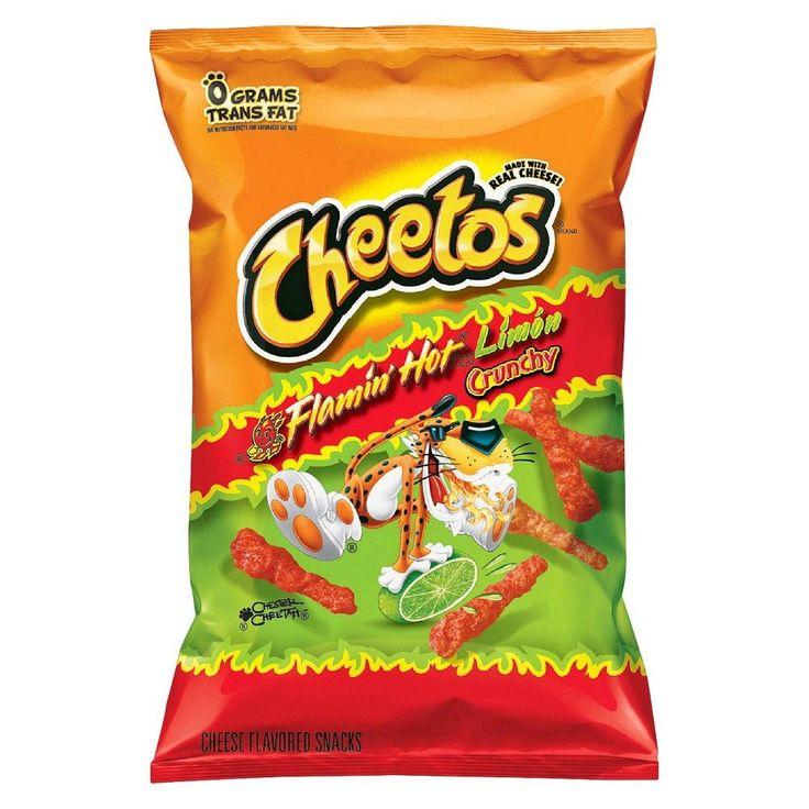 Cheetos Crunchy Flamin Hot Lime 8.5oz