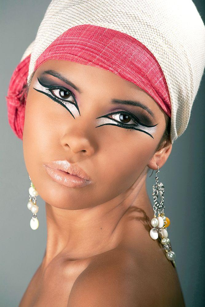 Egyptian eyes | Leopard Costume | Pinterest