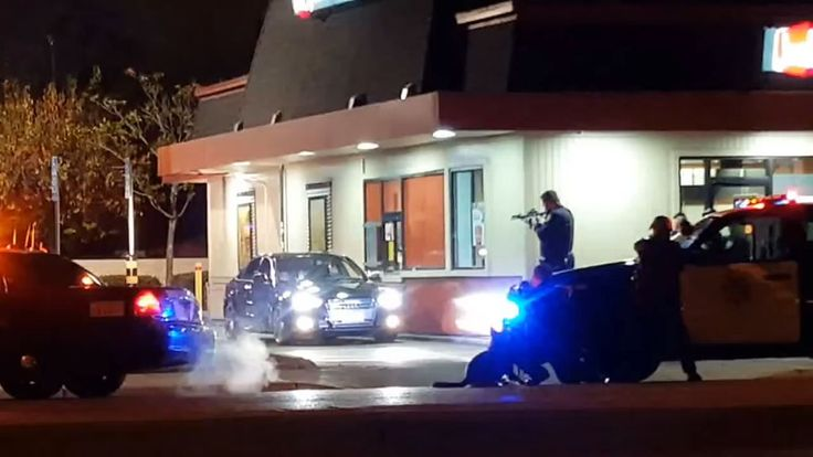 A video surfaced over the weekend that shows the January arrest of an off-duty Santa Clara County Sheriff's deputy accused of drunkenly waving a gun at a drive-thru lane of a Jack in the Box. #CaliforniaDUI #DUIarrest #News